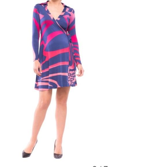 380b073fe1064 Olian Dresses | Beautiful Maternity Wrap Dress | Poshmark